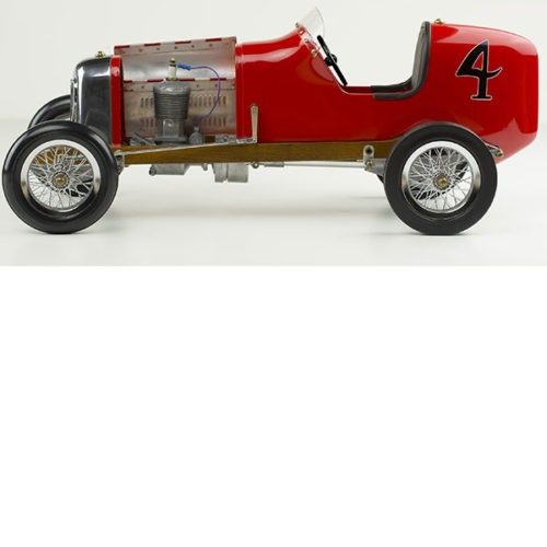 Red Bantam Midget Racecar Model