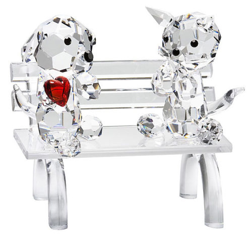 Crystal Doggie and Kitty in Love