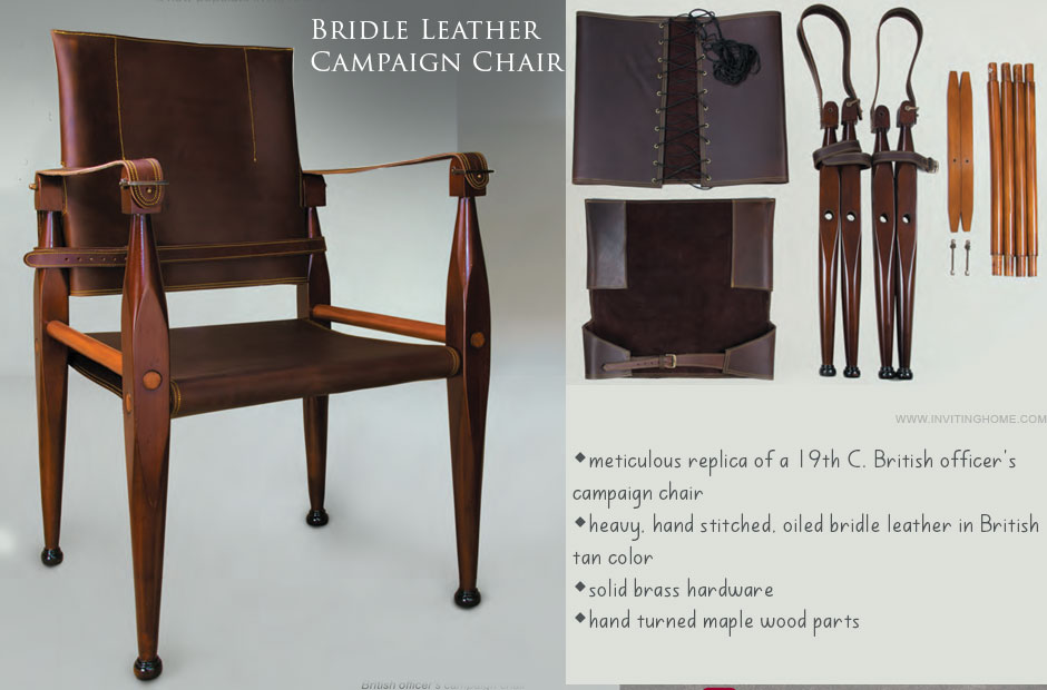 Leather Field Chair
