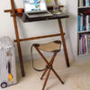 Folding Tripod Chair - Campaign Chair
