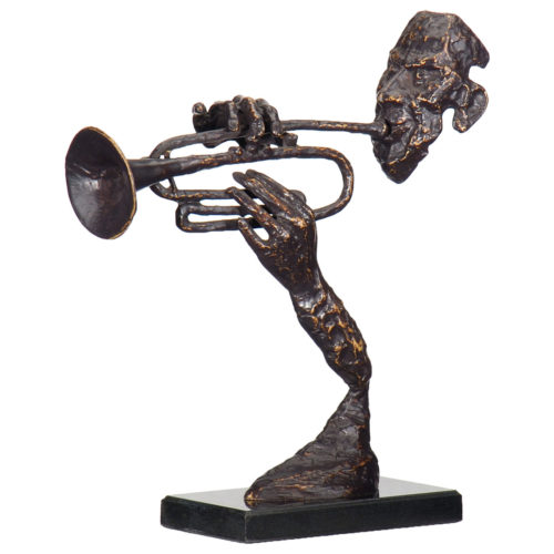 Abstract Trumpeter