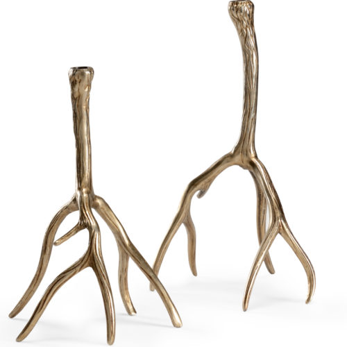 Antler Candlesticks (set of 2)
