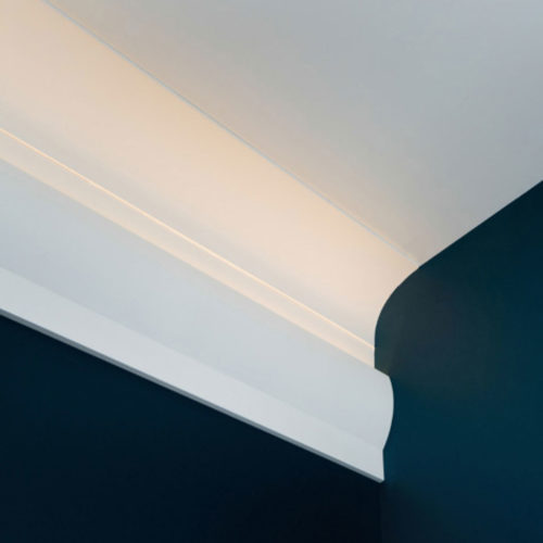modern molding for indirect lighting