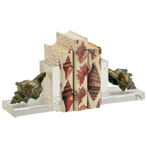 Shell Bookends