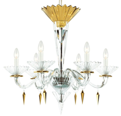 Cut Crystal Chandelier
