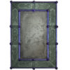 Antiqued Murano Glass Mirror