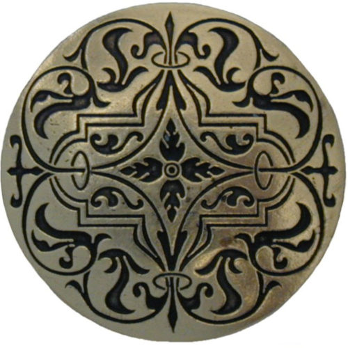 Renaissance Knobs are delicate-looking design that has a very bold shape to it.