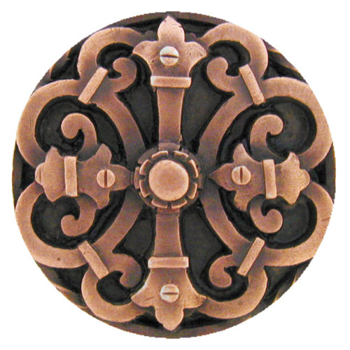 Chateau knobs are a very dramatic accessory to any cabinets or drawers