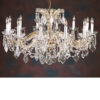 Maria Theresa Crystal Chandelier for low ceilings
