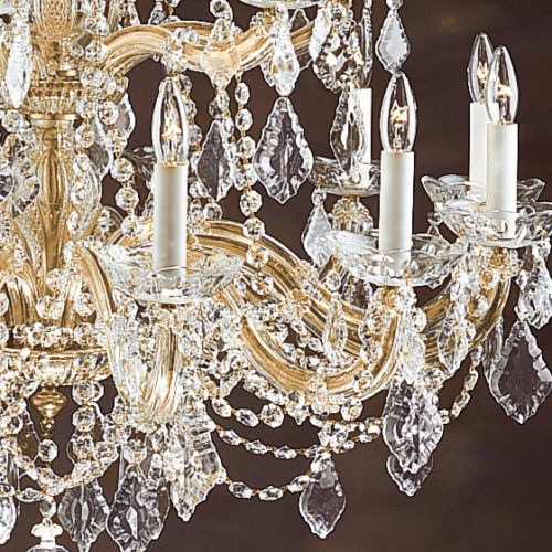 Maria Theresa Crystal Chandelier Detailed Image