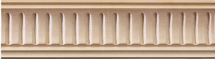 Lowell Carved Crown Molding (small) - cherry wood
