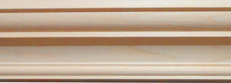 Lauderdale Crown Molding - Maple Wood