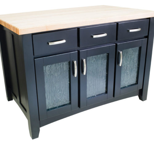 Miami Kitchen Island (black)
