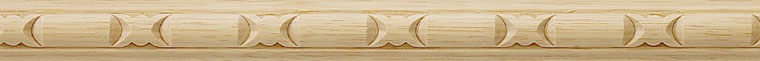 Harrisburg Carved Wood Panel Molding