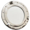 Porthole mirrors pay homage to the windows of old ships, creating a perfect balance between modern and vintage. This item is perfect as a centerpiece to any nautical-themed home and, since it opens at the hinged, it can also be used as a door