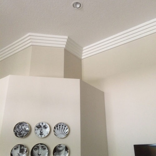 Boca Raton Crown Molding installed