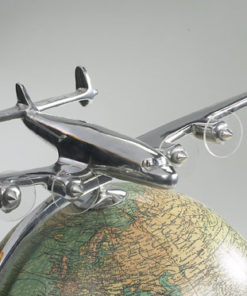 Globe With Plane Model