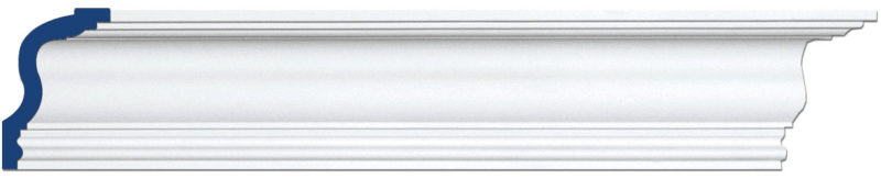 clean line crown molding