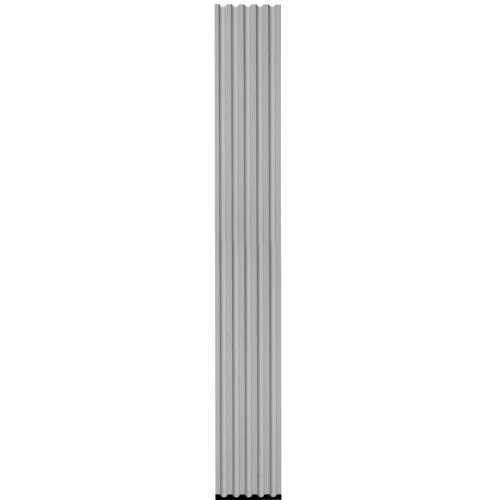 This pilaster is made with outstanding quality and durability fluted pilaster for door trim made from high density polyurethane factory primed and ready to be finished with any quality paint