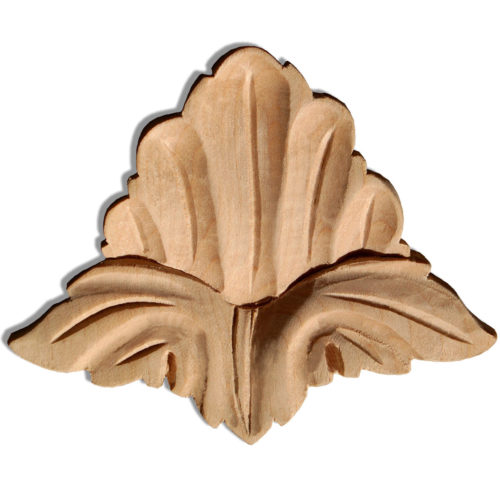 Addison wood plaques are carved in a deep relief with leaf motif. These plaques are hand carved by skilled craftsman from premium selected hardwoods