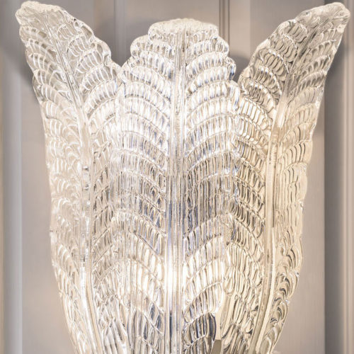 Murano and Art glass sconces