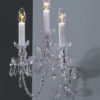 Bohemian Crystal Sconces