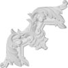 Pompano decorative molding corner
