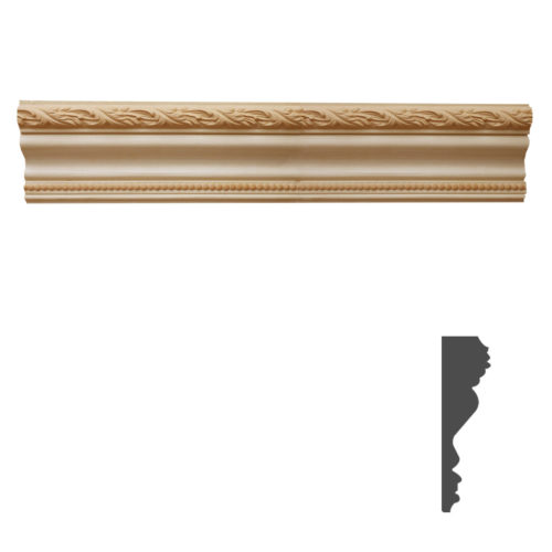 Quality carved wood crown molding