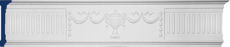 decorative frieze molding