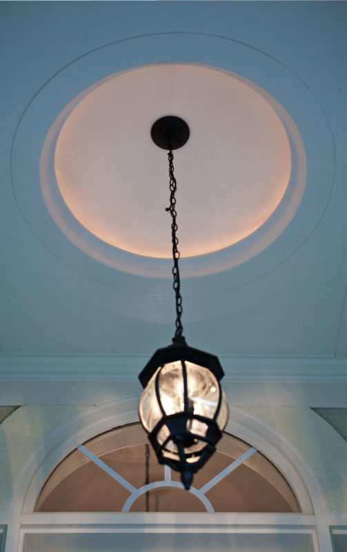 ceiling dome with lighting