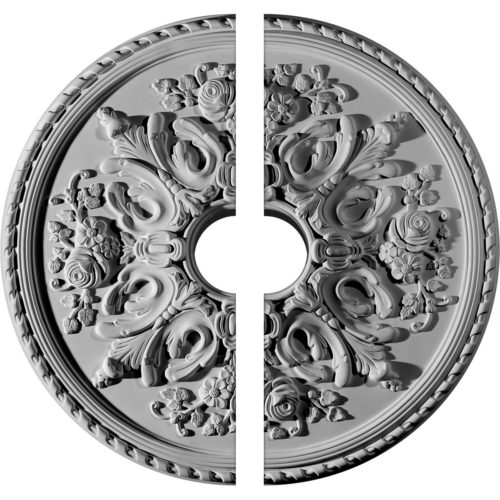 two piece medallion Parisian Ceiling Medallion
