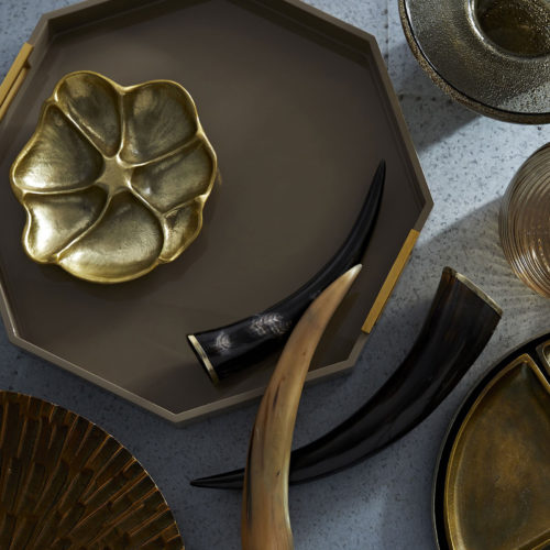 Table-top accessories and bar-ware; interior design inspiration, decorating ideas