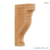 Enjoy the warmth and beauty of the simple Mission scroll wood bracket.