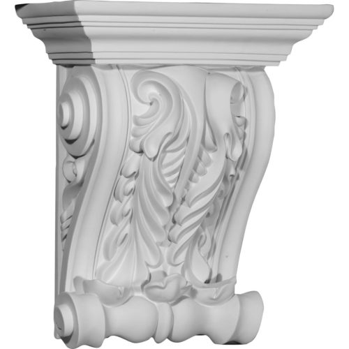 The Majestic twin leaf corbels are truly unique in design and function.