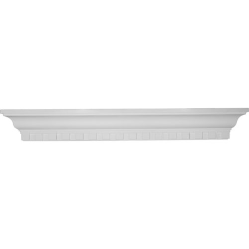 This shelf is truly unique in design and function. Primarily used in decorative applications urethane shelves can make a dramatic difference in kitchens, bathrooms, entryways, fireplace surrounds and more.